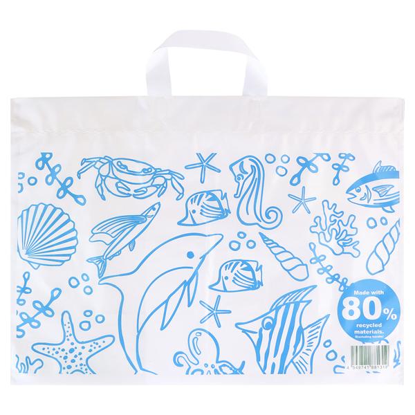 リサイクル原料を使った買い物袋L(c) 商品画像 (0)