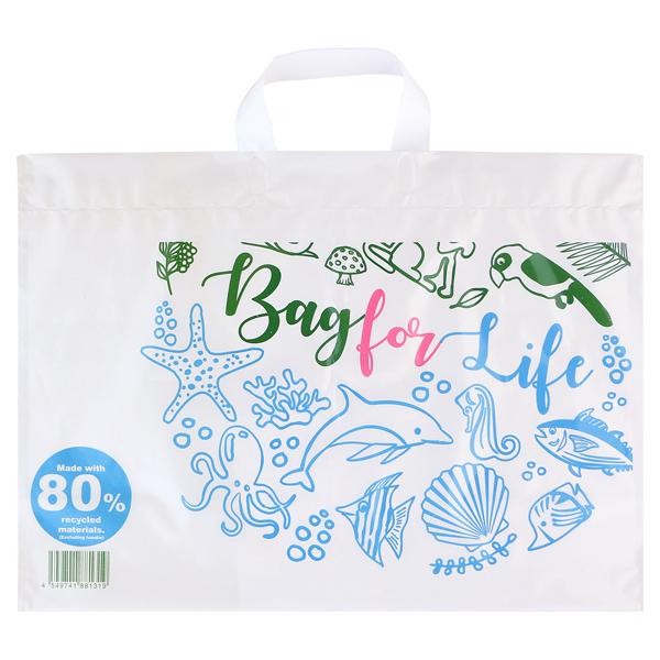 リサイクル原料を使った買い物袋L(c)