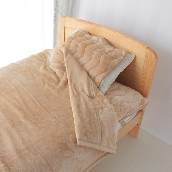 HOME COORDY 極細繊維無地2枚合わせ毛布 商品画像 (0)