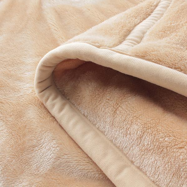 HOME COORDY 極細繊維無地2枚合わせ毛布 商品画像 (3)
