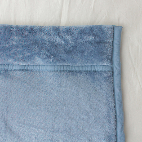 HOME COORDY 極細繊維無地2枚合わせ毛布 商品画像 (2)