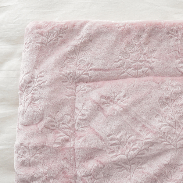 HOME COORDY 保湿ガーデン柄毛布 商品画像 (2)