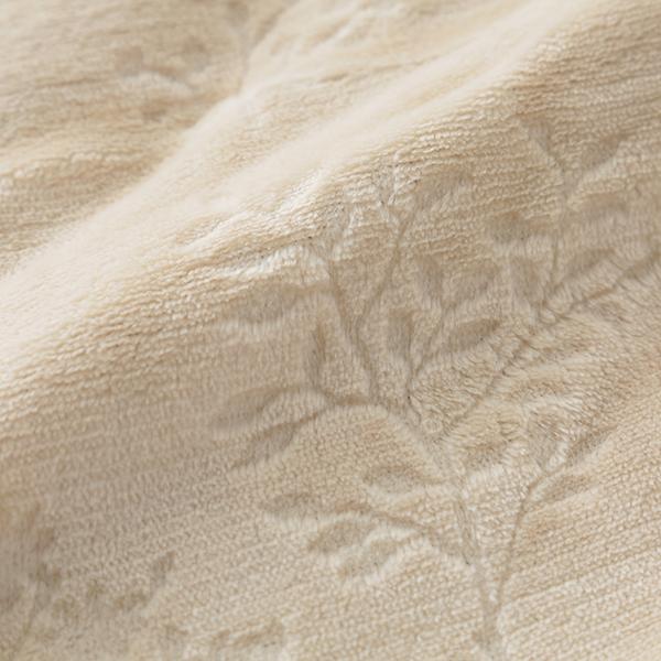 HOME COORDY 保湿ガーデン柄毛布 商品画像 (4)