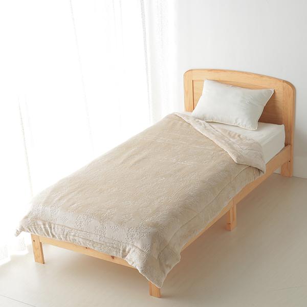 HOME COORDY 保湿ガーデン柄毛布 商品画像 (メイン)
