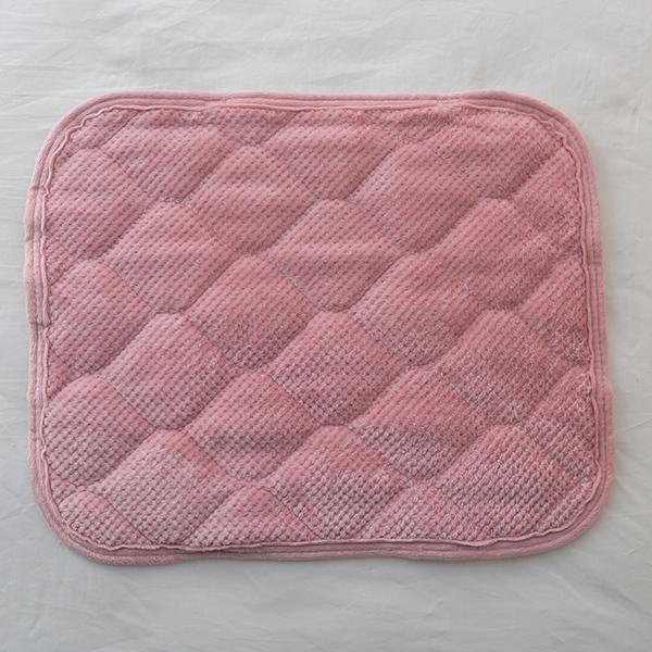HOME COORDY ワッフル起毛とオーガニックコットンパイルリバーシブルまくらパッド 商品画像 (2)