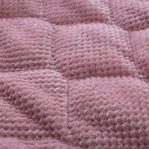 HOME COORDY ワッフル起毛とオーガニックコットンパイルリバーシブルまくらパッド 商品画像 (5)