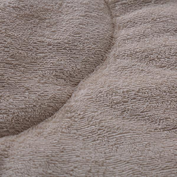 HOME COORDY ワッフル起毛とオーガニックコットンパイルリバーシブル肌掛けふとん 商品画像 (4)