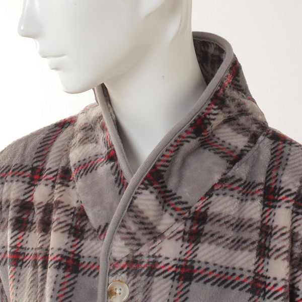 HOME COORDY ラージチェック柄着る毛布 商品画像 (3)