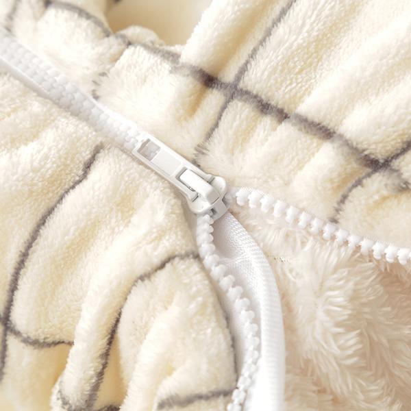 HOME COORDY ウィンドウペイン柄ロール毛布 商品画像 (5)