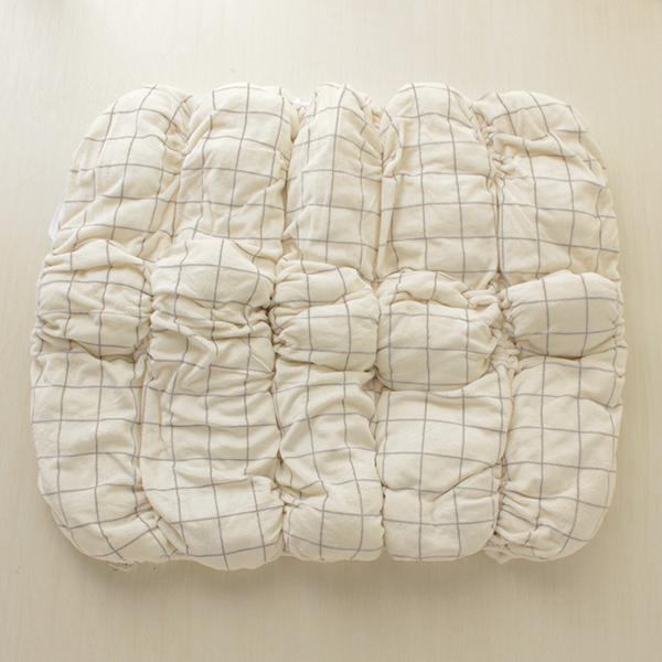 HOME COORDY ウィンドウペイン柄ロール毛布 商品画像 (4)