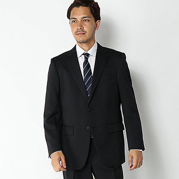 マジ楽 ストレッチコンフォート ツータックメンズスーツ 商品画像 (メイン)