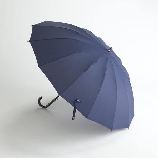 紳士多骨長傘 無地