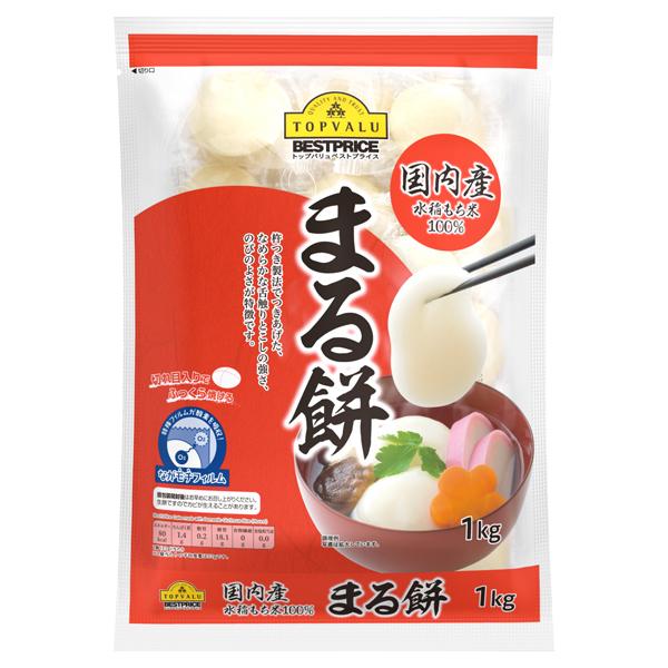 国内産水稲もち米100% まる餅