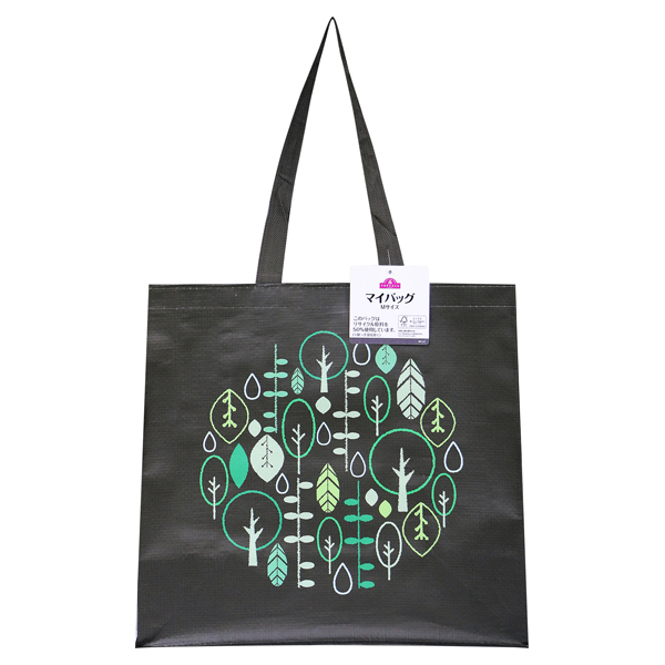 リサイクル原料を使ったマイバッグ M(d)