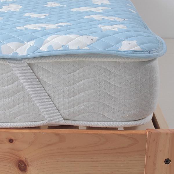 シロクマ柄敷きパッド HOME COORDY 商品画像 (1)