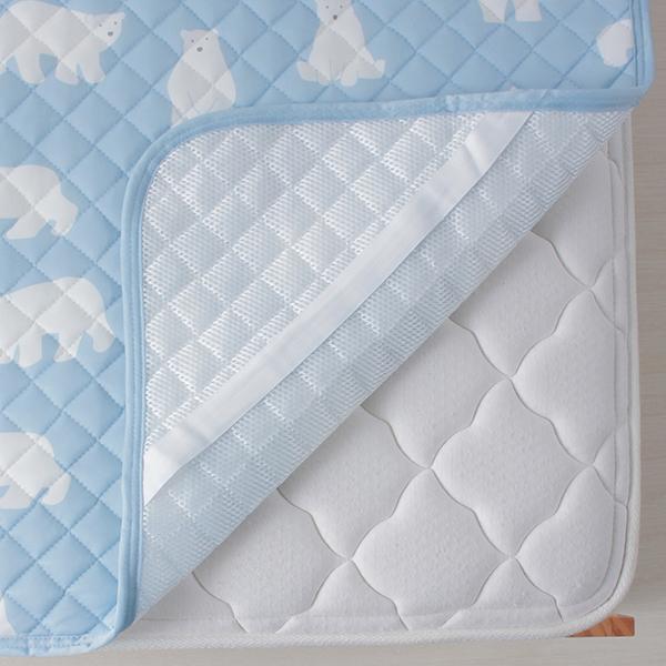 シロクマ柄敷きパッド HOME COORDY 商品画像 (2)