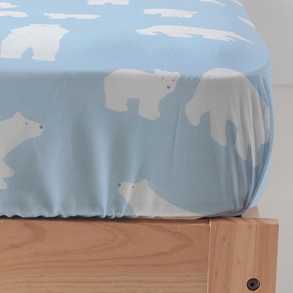 シロクマ柄ベッド用ワンタッチシーツ HOME COORDY 商品画像 (1)