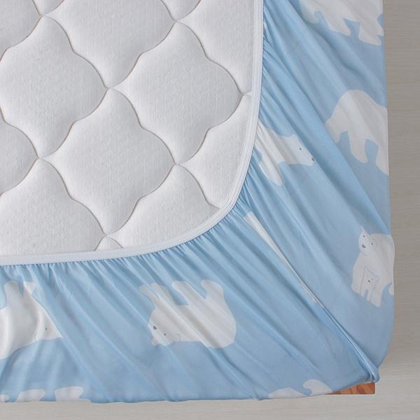 シロクマ柄ベッド用ワンタッチシーツ HOME COORDY 商品画像 (2)