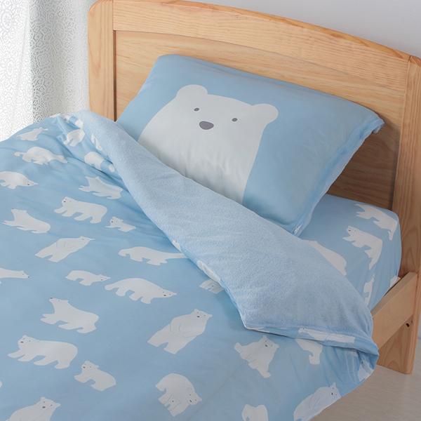 シロクマ柄ベッド用ワンタッチシーツ HOME COORDY 商品画像 (0)