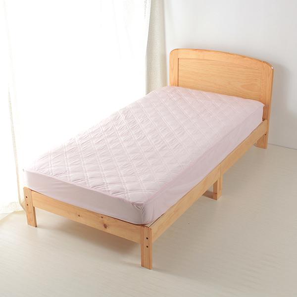 ひんやり 一体型敷きパッド HOME COORDY 商品画像 (メイン)