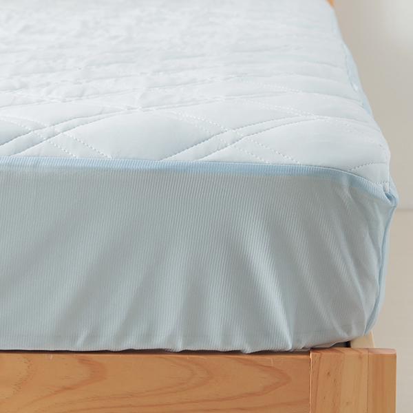 ひんやり 一体型敷きパッド HOME COORDY 商品画像 (1)