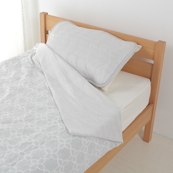 アイスコールドまくらパッド 35cm×50cm・43cm×63cmまくら兼用 HOME COORDY 商品画像 (0)