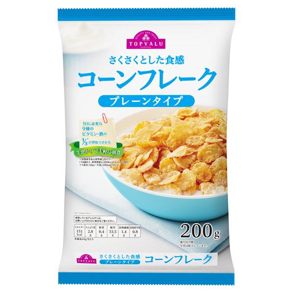 さくさくとした食感 コーンフレーク プレーンタイプ 商品画像 (メイン)