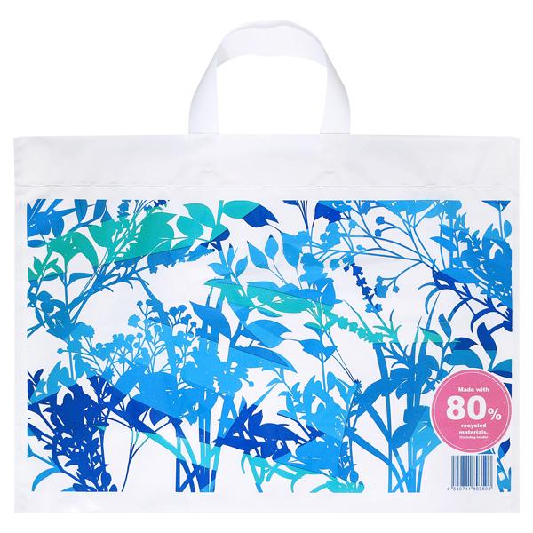 リサイクル原料を使った買い物袋L(d)