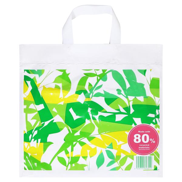 リサイクル原料を使った買い物袋M(d)