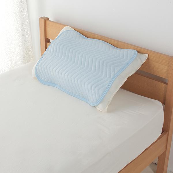 クール&パイルリバーシブルまくらパッド 35cm×50cm・43cm×63cmまくら兼用 HOME COORDY