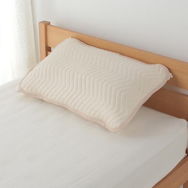 クール&パイルリバーシブルまくらパッド 50×70cmまくら用 HOME COORDY