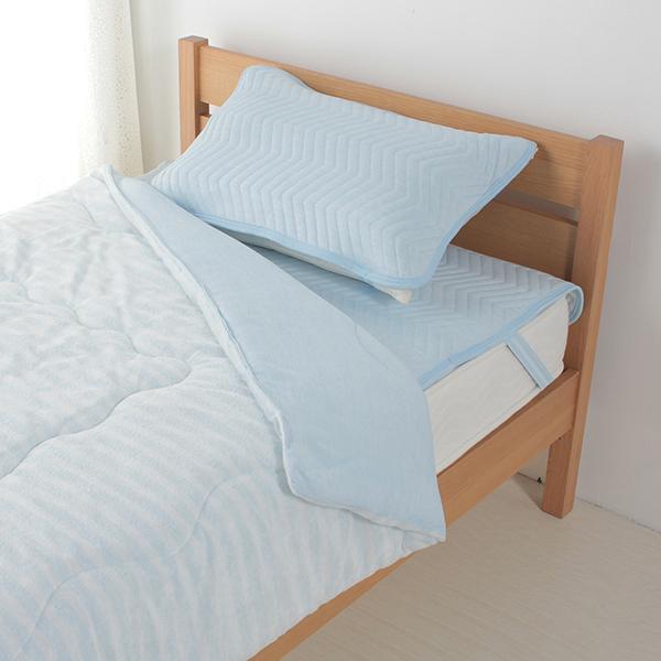 クール&パイルリバーシブルまくらパッド 50×70cmまくら用 HOME COORDY 商品画像 (1)
