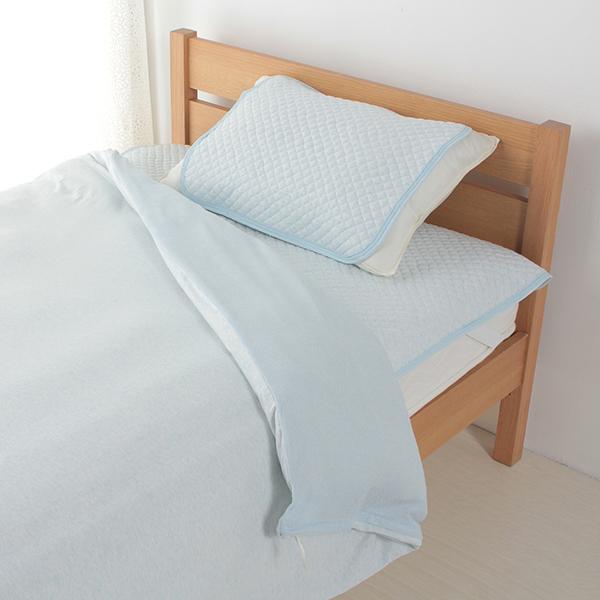 綿クールまくらパッド 35cm×50cm・43cm×63cmまくら兼用 HOME COORDY 商品画像 (0)