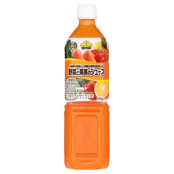 4種類の果実と22種類の野菜を使用した 野菜と果実のジュース 商品画像 (メイン)