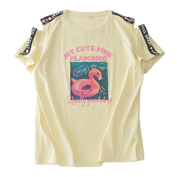 くーるっち 肩テープ付Tシャツ