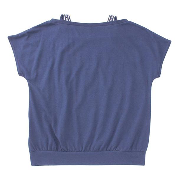 くーるっち 肩テープ使いTシャツ 商品画像 (0)