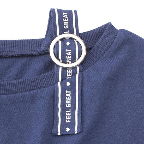 くーるっち 肩テープ使いTシャツ 商品画像 (2)