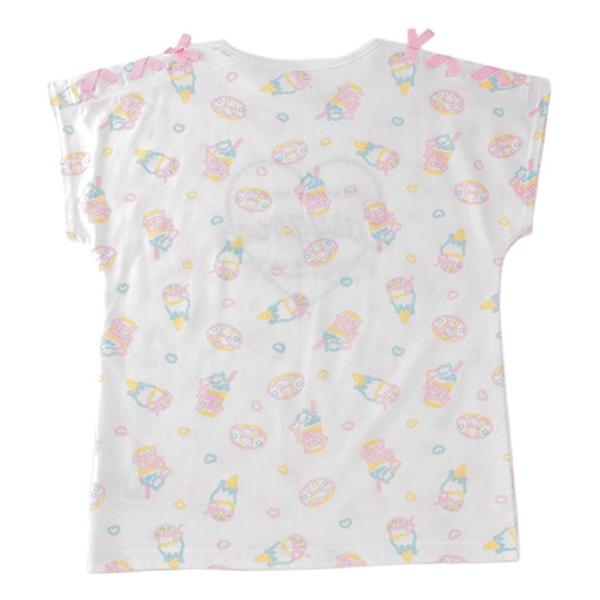 くーるっち 肩リボン総柄Tシャツ 商品画像 (0)