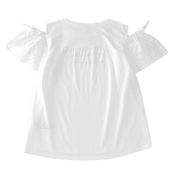 くーるっち 肩あきレース袖Tシャツ 商品画像 (0)