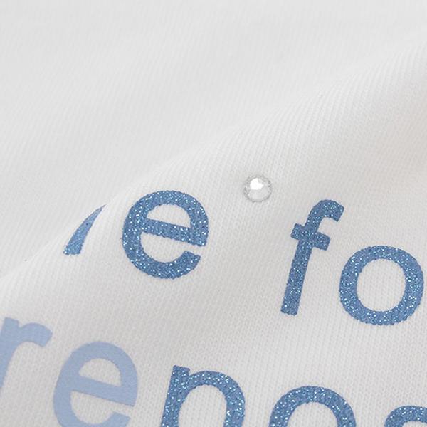くーるっち 肩あきレース袖Tシャツ 商品画像 (1)