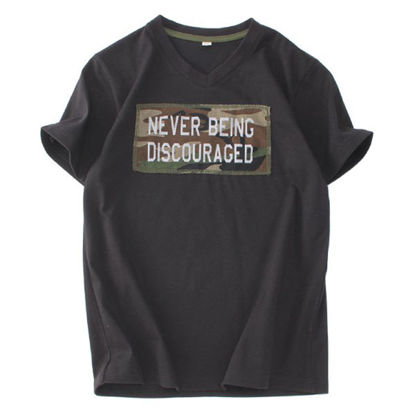 くーるっち ミリタリーVネックTシャツ