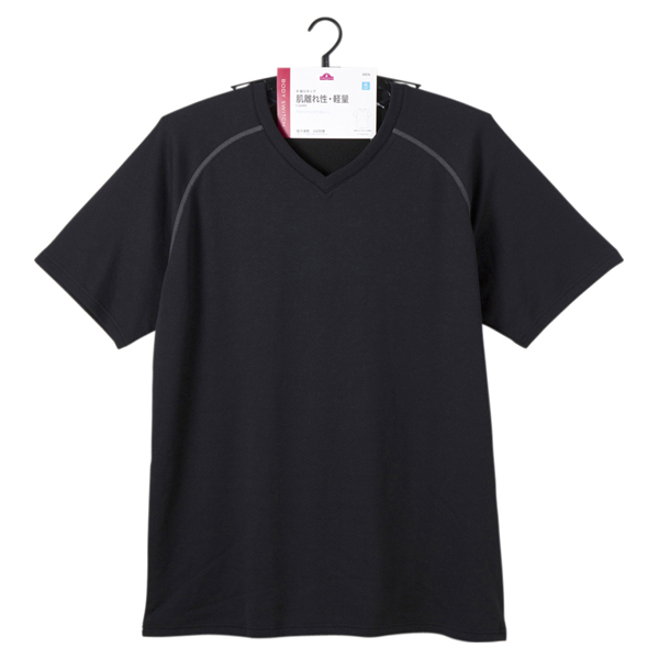 BODY SWITCH 軽量半袖VネックTシャツ 商品画像 (1)