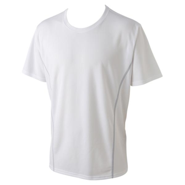BODY SWITCH ハニカムメッシュ半袖クルーネックTシャツ