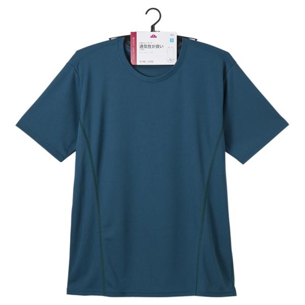 BODY SWITCH ハニカムメッシュ半袖クルーネックTシャツ 商品画像 (1)