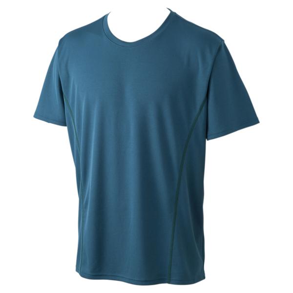 BODY SWITCH ハニカムメッシュ半袖クルーネックTシャツ 商品画像 (メイン)
