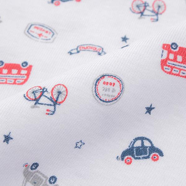 オーガニックコットンブレンド フライス編み 半袖Tシャツ 2枚よりどり本体価格980円 商品画像 (1)
