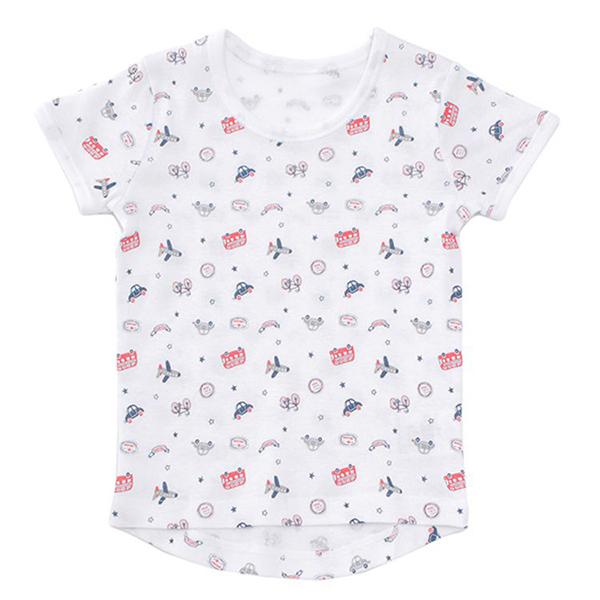 オーガニックコットンブレンド フライス編み 半袖Tシャツ 2枚よりどり本体価格980円 商品画像 (メイン)