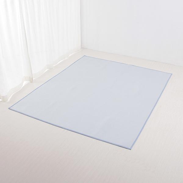 接触冷感 フロアラグ 185×185cm(約2畳相当) HOME COORDY COLD 2 HOME COORDY