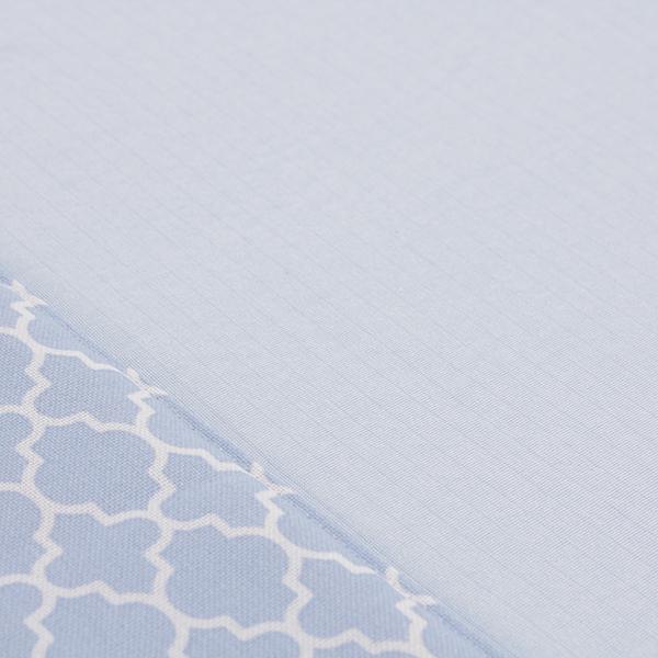 接触冷感 ヘムプリントフロアラグ 185×185cm(約2畳相当) HOME COORDY COLD 3 HOME COORDY 商品画像 (1)