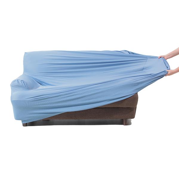 接触冷感ソファカバー2人掛用 ブルー HOME COORDY 商品画像 (4)